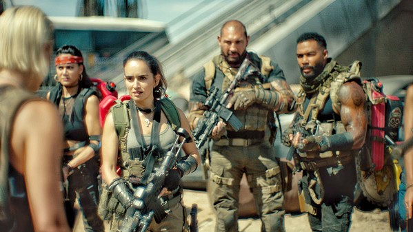 ZOMBIE FOOD A team of mercenaries infiltrates a walled-off Las Vegas infested with zombies in a bid to steal $200 million from a casino's underground vault, in Army of the Dead, screening on Netflix. - PHOTO COURTESY OF NETFLIX