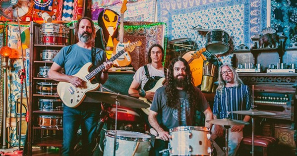 THEY'RE BACK After their sold-out show last month, LA supergroup Circles Around the Sun plays Castoro Cellars as part of a Good Medicine Presents concert on June 5. - PHOTO COURTESY OF CIRCLES AROUND THE SUN