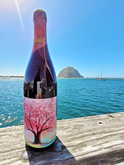 'CHERRY JUICE' Sourced from Colburn Vineyard in the Paso Robles Adelaida District, Absolution Cellars produced four barrels of the 2019 grenache, an easy drinking spring and summer red. - PHOTOS COURTESY OF DIRK NEUMANN