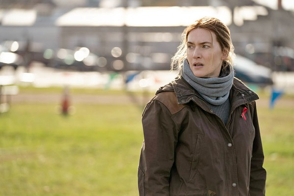 TROUBLED Kate Winslet stars as small-town detective Mare Sheehan, who's investigating the murder of an unwed teenage mother while her life falls apart around her, in Mare of Easttown on HBO Max. - PHOTO COURTESY OF HOME BOX OFFICE AND MAYHEM PICTURES