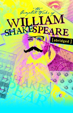 SHAKE IT OFF, SHAKE IT OFF The Complete Works of William Shakespeare [abridged] premiered on June 18 and is scheduled to run through Aug. 8. This show marks SLO Rep's first live, in-person production since last March. - COURTESY PHOTOS BY RYLO MEDIA DESIGN, RYAN C. LOYD