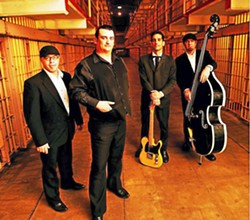 HELLO, I'M (ALMOST) JOHNNY CASH Premiere Johnny Cash tribute act Cash'd Out plays a Numbskull and Good Medicine Presents show at BarrelHouse Brewing on July 1. - PHOTO COURTESY OF CASH'D OUT