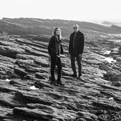 """LEARNING TO LET GO As part of their eight-month eight-song project, folk duo Bob and Wendy have just released """"Let It Be, Let It In, Let It Go."""" - COURTESY PHOTO BY BARRY GOYETTE"""