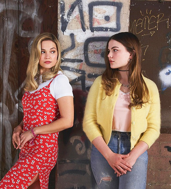SWITCHEROO After Kate (Olivia Holt, left) is abducted, school wallflower Jeanette (Chiara Aurelia) seems to effortlessly take her place as the popular girl in school, acquiring both her friends and boyfriend, in the Hulu TV series Cruel Summer. - PHOTO COURTESY OF IRON OCEAN FILMS