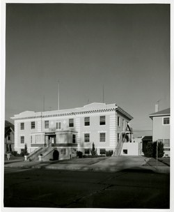 CARING FOR SLO COUNTY Edison French converted the San Luis Sanitarium at 1160 Marsh St. in 1946 to open the doors of the original French Hospital. - PHOTO COURTESY OF DIGNITY HEALTH