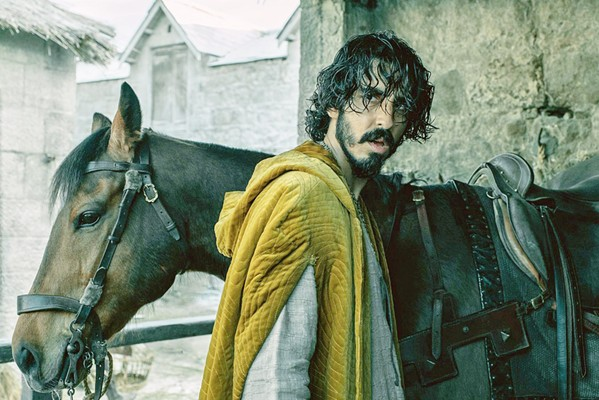IN SEARCH OF HONOR Gawain (Dev Patel) accepts a challenge to prove his worthiness but struggles to muster the inner fortitude to behave honorably, in The Green Knight, playing in local theaters. - PHOTO COURTESY OF SAILOR BEAR, BRON STUDIOS, AND A24