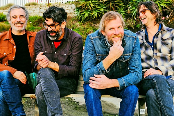 CALIFORNIA DREAMERS The Mother Hips bring their breezy psychedelic sounds to SLO Brew Rock on Aug. 6. - PHOTO COURTESY OF THE MOTHER HIPS