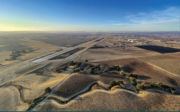 LANDING ZONE Paso Robles City Council voted on Aug. 3 to file a pre-application with the Federal Aviation Administration for its municipal airport to become a commercial spaceport. - PHOTO COURTESY OF CITY OF PASO ROBLES STAFF REPORT