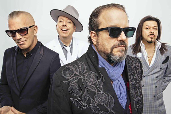 INDEPENDENT Eclectic genre-jumping country and beyond band The Mavericks play Vina Robles on Aug. 14. - PHOTO COURTESY OF DAVID MCCLISTER