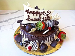 IT'S A CAKEWALK Chef Gonzalo Huerta creates cakes for all occasions, as well as special-order truffles with customized flavors. - PHOTOS COURTESY OF SLO DELICIOUS