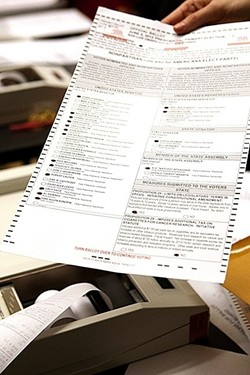 SEPTEMBER ELECTION Most SLO County voters have received their mail-in ballots for the Sept. 14 gubernatorial recall election. - FILE PHOTO