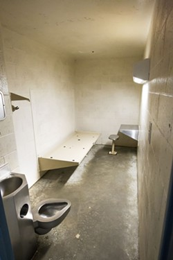 VIOLATIONS A three-year U.S. Department of Justice investigation found that SLO County violates the constitutional rights of inmates in its jail. - FILE PHOTO BY JAYSON MELLOM