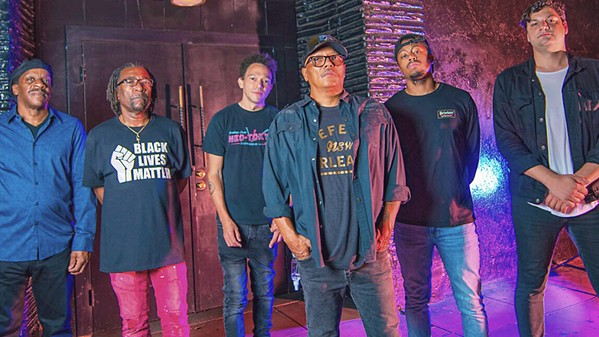 NOLA BORN AND BRED Numbskull and Good Medicine brings New Orleans band Dumpstaphunk to The Siren on Sept. 23. - PHOTO COURTESY OF JEFF FARSAI