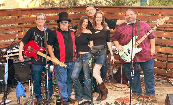 DEUX VOX Local sextet Soleffect plays the Pourhouse on Sept. 17, bring an evening of powerhouse rock and funk. - PHOTO COURTESY OF SOLEFFECT