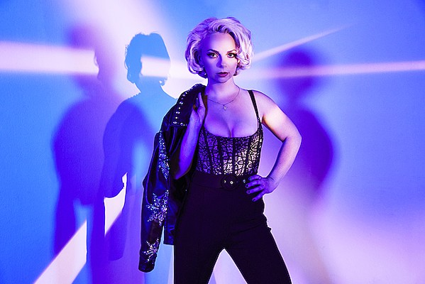 GUITAR SLINGER Singer and ripping blues guitarist Samantha Fish plays BarrelHouse Brewing on Sept. 30, delivering an evening of shredding guitar. - PHOTO COURTESY OF KEVIN KING