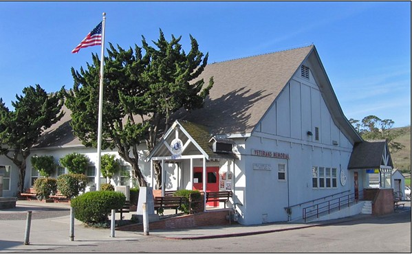 A LONG WAIT Ever since the Vet's Hall closed in 2016, Cayucos residents and SLO County officials are hoping the Board of Supervisors passes the remaining $3.5 million needed to renovate it. - PHOTO COURTESY OF CAYUCOS LIONS CLUB