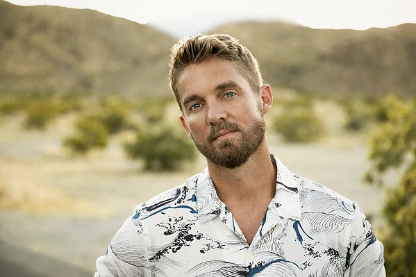 HIT MAKER Country singer Brett Young plays the Avila Beach Golf Resort on Oct. 2, bringing his string of No. 1 singles with him. - PHOTO COURTESY OF BRETT YOUNG
