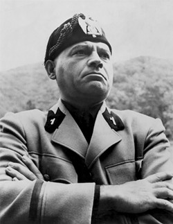 BENITO Nehemiah Persoff also did a lot of television work, such as his starring role in The Killers of Mussolini (June 4, 1959), which aired in season 3, episode 35, of Playhouse 90. - PHOTO COURTESY OF NEHEMIAH PERSOFF AND CBS TELEVSION NETWORK