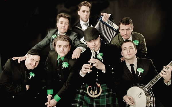 MURPHS Famed Celtic punk act Dropkick Murphys play Vina on Oct. 13 as part of a four-band show. - PHOTO COURTESY OF DROPKICK MURPHYS