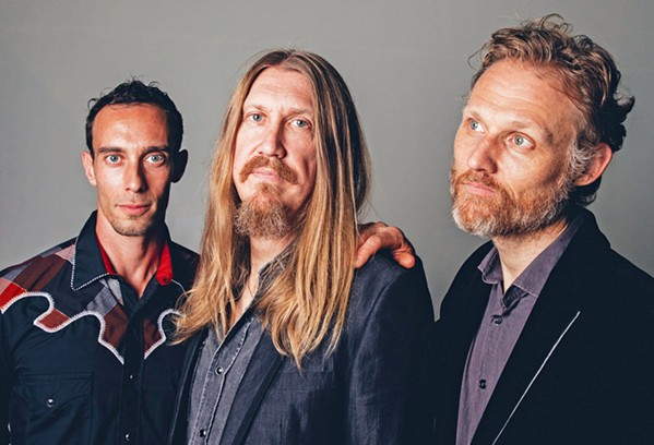 ROOTS Stripped-down Americana heroes The Wood Brothers play the Fremont on Oct. 14. - PHOTO COURTESY OF ALYSSE GAFKJEN