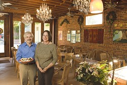 CULINARY KONG :  George and Kay Kartsioukas are bringing an unorthodox culinary pairing to SLO. - PHOTO BY STEVE E. MILLER