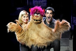 THE INTERNET IS FOR PORN :  Trekkie Monster possesses an unfortunate addiction to pornography. - PHOTO COURTESY OF AVENUE Q