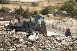 WHERE IT ALL ENDS UP :  Rates for garbage hauling services are scheduled to increase between 3 and 5 percent throughout San Luis Obispo County. - FILE PHOTO BY STEVE E. MILLER