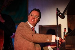 """PIANO CLASSIC:  The SLO Jazz Fed hosts Carl """"Sonny"""" Leyland at the Unity Concert Hall on Dec. 13. - PHOTO COURTESY OF CARL """"SONNY"""" LEYLAND"""