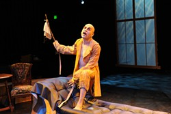 FANG-TASTIC!:  Cuesta College's fall production of 'Dracula' was one of many memorable, accomplished, and diverse theatrical performances in SLO County. - PHOTO COURTESY OF RITCHIE BERMUDEZ