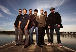 STREET PARTY!:  Ozomatli brings their mash-up Latin, hip-hop, and world music sounds to SLO Brew on Feb. 22. - PHOTO COURTESY OF OZOMATLI