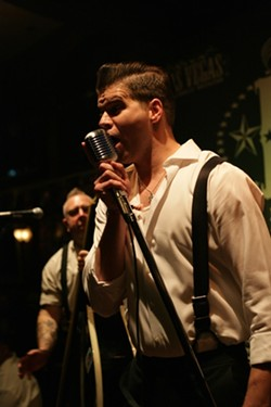 ROCK THIS TOWN :  Awesome rockabilly act Dead Zed's Chopper plays Mongo's Saloon on July 13. - PHOTO BY GLEN STARKEY