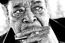 LEGEND:  Blues icon James Cotton (pictured) plays the PAC on Feb. 27 with Elvin Bishop and Paul Thorn. - PHOTO COURTESY OF JAMES COTTON