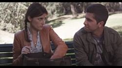 BENCH BUDDIES:  Girls tutors boy. Girl falls for boy. That's the story of the indie rom-com 'The Park Bench.' - PHOTO COURTESY OF SLOIFF