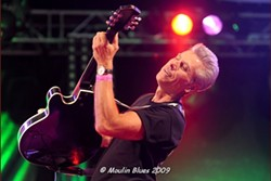 SOUL-DRENCHED GUITAR :  Tony Balbinot, front man for the Cadillac Angels, playing April 13 at Mongo's, lets his guitar do the talking. - PHOTO COURTESY OF PHOTO COURTESY OF THE CADILLAC ANGELS