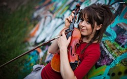 PIXIE! :  If you're wondering what's been missing from your musical life, it's Lindsey Stirling, a YouTube sensation who mixes classical violin and dance. See her Nov. 13 at SLO Brew. - PHOTO COURTESY OF LINDSEY STIRLING