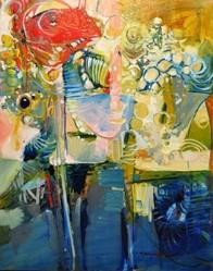 JACOB'S LADDER: - ARTWORK BY DREW DAVIS, COURTESY OF STUDIOS ON THE PARK