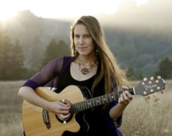 GO WEST :  Amanda West (pictured) appears with local fave Inga Swearingen at Steynberg on Jan. 27, and she'll also play with multi-instrumentalist Pete Solomon on Jan. 28 at the Gather Wine Bar. - PHOTO COURTESY OF AMANDA WEST