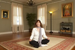 A YOGA A DAY … :  Janne John wants her holistic center to promote health in all its manifestations. - PHOTO BY STEVE E. MILLER