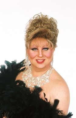 RE-DEFINING LADY :  Female impersonator Tommi Rose will emcee the drag show at Downtown Brew. - PHOTO COURTESY OF TOMMI ROSE