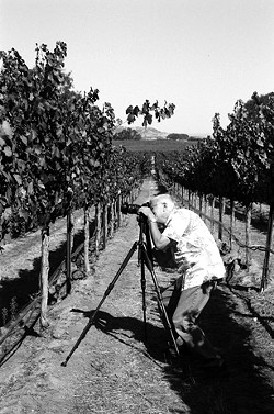 THE MASTER AT WORK:  Jim Vincolisi, pictured, leads tours of the Santa Margarita Ranch for photographers—both amateur and accomplished. - PHOTO BY ANNA WELTNER