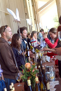 AH-AH-AH-AH-AH!:  During the symposium's grand tasting, 36 small, exclusive wineries will offer an array of fine chardonnays to educate your palate, and your buying power. - PHOTO COURTESY OF THE CHARDONNAY SYMPOSIUM