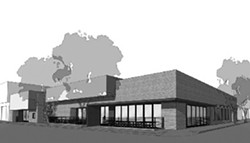 NOT JUST A BOWLING ALLEY, MAN!:  The Sept. 15 approval of a new bowling alley and nightclub in downtown SLO brought several opinions on what is and isn't appropriate for downtown, and how the city should treat new projects. - IMAGE FROM SLO CITY STAFF REPORT