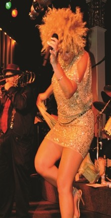 BRASSY! :  Blues, soul, and R&B singer Kaye Bohler plays the SLO Blues Society show on May 11 at the SLO Vets Hall. - PHOTO COURTESY OF KAYE BOHLER