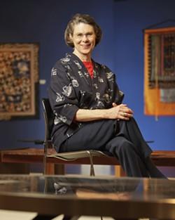 NANCY PIVER :  serves on the Art Center board. - PHOTO BY STEVE E. MILLER