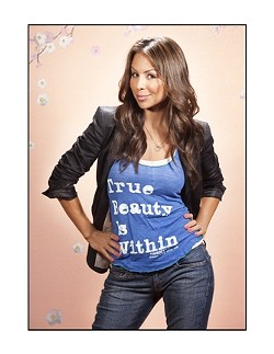 IS THAT YOU, QUI QUI? :  Stand-up comedienne, actor, and former cheerleader Anjelah Johnson plays the PAC on May 10. - PHOTO COURTESY OF ANJELAH JOHNSON