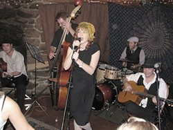 OLD-SCHOOL GYPSY JAZZ :  The awesomely talented Tipsy Gypsies play June 13 at Sustenance Cooking Studio, which will be serving up barbeque and summer salads during a BYOB concert. - PHOTO BY ZED WILLIAMS