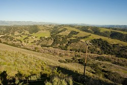 GOLF COURES TO COME :  Developers want to fill the hills of Price Canyon with 700 homes. - PHOTO BY STEVE E. MILLER