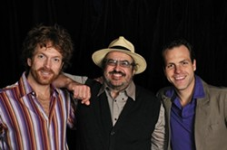 QUEBEC CUTIES:  Quebec folk music pioneer Yves Lambert and his trio bring the French-Canadian sound to a SLOfolks concert at Castoro Cellars on Sept. 14. - PHOTO COURTESY OF SLOFOLKS