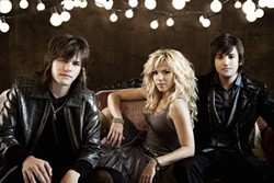 SIBLINGS!:  Fronted by Kimberly Perry and rounded out by her younger brothers, Reid and Neil, The Band Perry plays Sept. 7, at Vina Robles Amphitheatre. - PHOTO COURTESY OF THE BAND PERRY