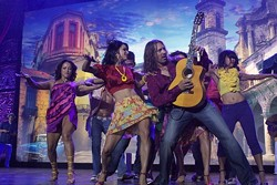 UN MAS GRANDE ZAPATO! :  Benise brings his Spanish guitar and dancers to the Performing Arts Center's Christopher Cohan Center on Sept. 29. - PHOTO COURTESY OF BENISE